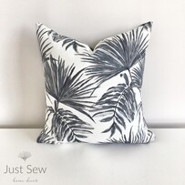 Tropicana Charcoal Outdoor Cushion