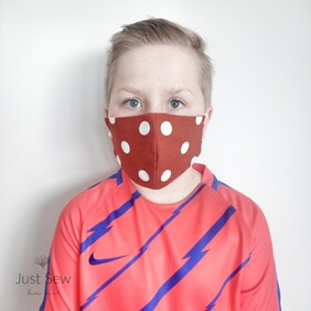 Rust Spots Face Mask - CHILD