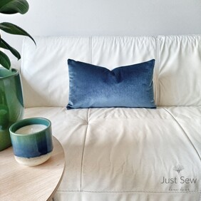 Jewel Tones Velvet Opal Cushion