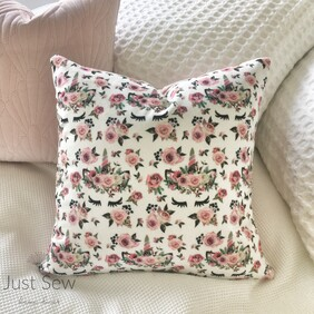 Secret Garden Velvet Cushion