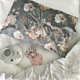 Marigold Charcoal Pillowcase pair