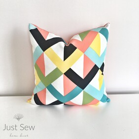 Criss Cross Outdoor Cushion