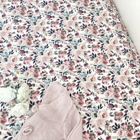 Rose Garden Fitted Sheet