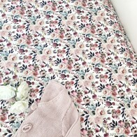 Rose Garden Fitted Cot Sheet