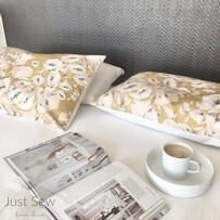 Poppy Mustard Pillowcase pair