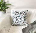 Bird Life Velvet Cushion